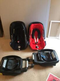 Child's car seats & bases
