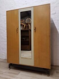 G-plan E Gomme Triple Wardrobe (DELIVERY AVAILABLE FOR THIS ITEM OF FURNITURE)