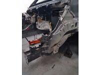 TRANSIT MK8 FRONT PASSENGER SIDE INNER WING CHASSIS LEG FLITCH 2014-17