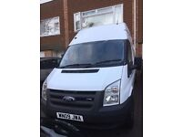 Ford Transit 2.4 TDCi 350 LWB High Roof Duratorq 3dr 6 Speed 115 in great condition