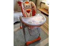 Brand New Chicco Polly 2 Start Chick High Chair