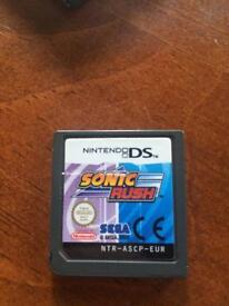 Sonic Rush DS (Game Only)