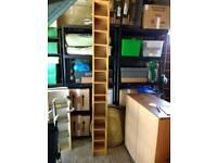 Ikea DVD shelf unit, pine veneer