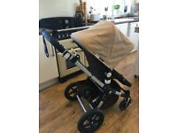 Bugaboo cameleon 3, chocolate brown and sand