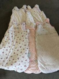 0-6months Sleeping Bags x 5