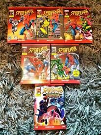 Spiderman animated tv series Complete RARE/OOP