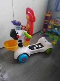 Vtech 3 in 1 Zebra scooter