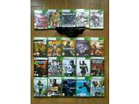 Xbox 360 kinect + 20 games