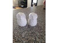 Owls salt and pepper