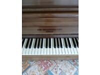John broadwood and sons piano 1950s Cross string. Excellent condition.