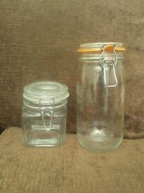 Kitchen Storage Jars . 4 for £10
