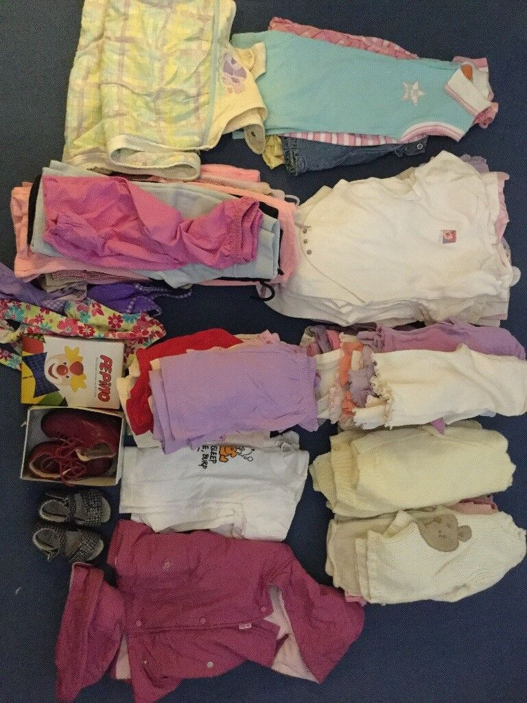 Helpful 12 To 18 Months Girls Bundle 10 Items Bundles Baby