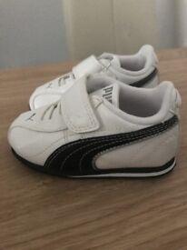 Baby puma trainers