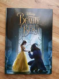 Disney Beauty and the Beast Movie Hardback Story Book NEW