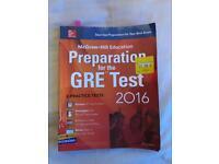 Preparation for GRE test