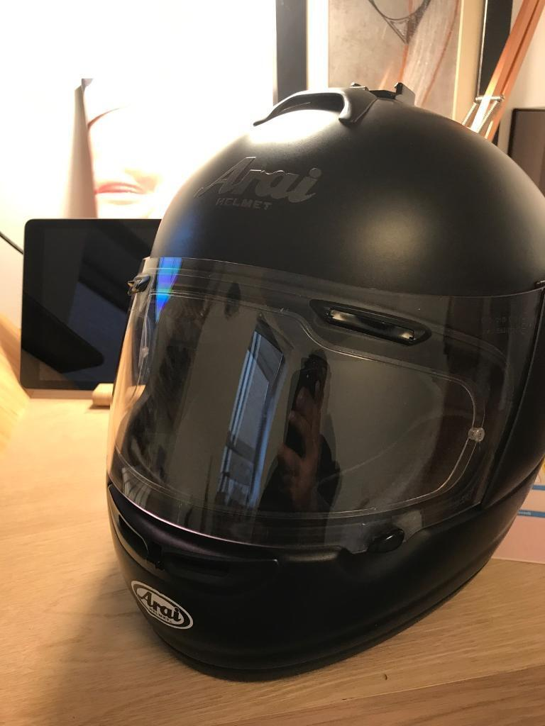 Arai axces-2 helmet Matt black L