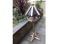 Lovely solid ornate birdhouse ***NEW***