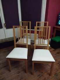 IKEA dining chairs - four or two pairs