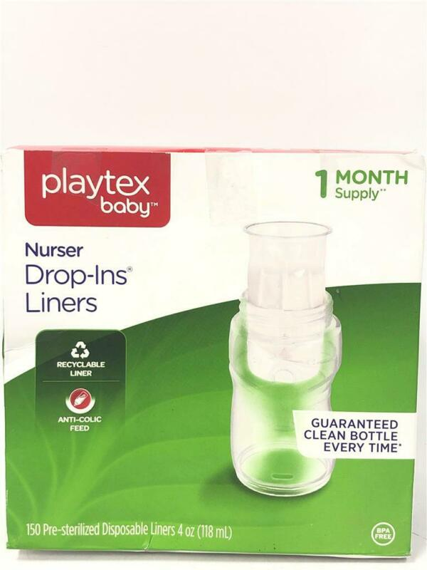 Playtex Baby Nurser Drop In Liners [1 Month Supply [133 Liners]