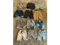 12 pairs of boys shorts - aged 4