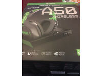 astro a50 gaming headset brand new unopened