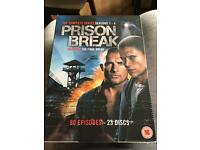 Prison Break season 1-4 DVD