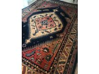 Large Persian inspired rug (3.7x2.4m)