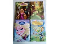 Set of four Disney books