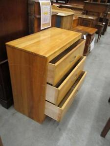 Used Wooden 3-Drawer Dresser - Apartment Size!