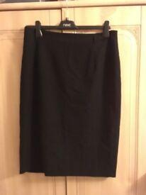 Marks and Spencer's Black Pencil Skirt