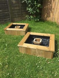 Any size planter built to customers needs