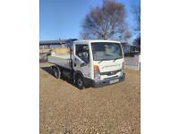 2009 Nissan cabstar twin wheel dropside truck