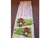 Toddler/childrens bedroom curtains - used but in excellent condition.