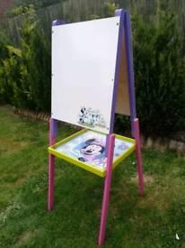 Kids writing chalk/white board