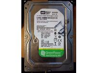 Western Digital 1TB Hard Drive for Desktop PC