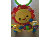 Push along baby walker Fisher Price Lion