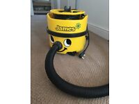 James numatic hoover. Works fine but needs a new motor as has lost full suction