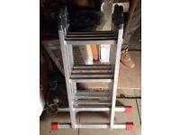 Aluminium Multi purpose ladders