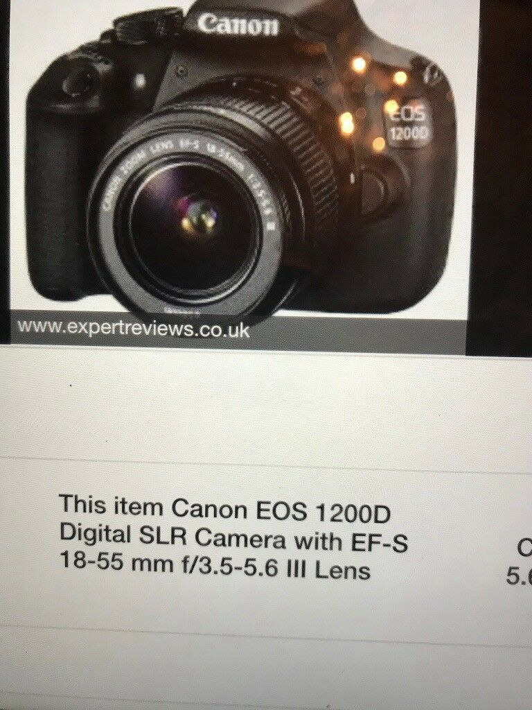 Canon EOS 1200D digital camera