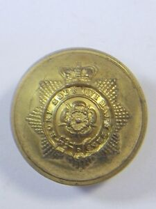 Hampshire Militia original Victorian Officers Large Gilt Button.
