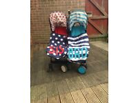 Cosatto Bro & Sis Double Pushchair