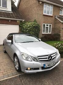 Mercedes E220 CDI convertible £9500 89k miles