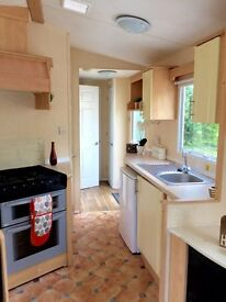 CHEAP BARGAIN , IMMACULATE HOLIDAY HOME- CARAVAN PITCH FEES INCLUDED