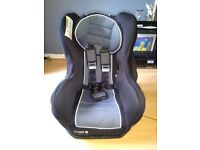 USED CUGGL BABY CAR SEAT