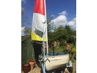 SAILING DINGHY For sale Ideal for beginners & young sailors