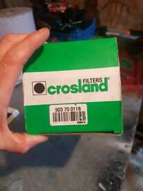 Crossland fuel filter for nissan x trail