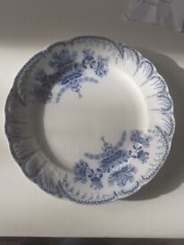 Dinner plates antique French