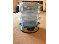John Lewis 3 tier Steamer with timer