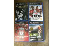 4 PS2 games £2 the lot