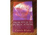From Pitch to Publication Book BRAND NEW